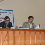 Judges of Final Round of State Level Moot Court Competition 2015-16 Dr. Mukund Sarda & Adv. Rajendra Anbhule