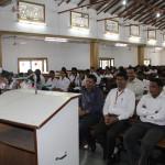 Rev. Abraham Srivastav addressing the students on Christian Marriage