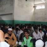 Mufti Ishthak Saheb addressing the students on Muslim Marriage