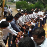 Rakshabandhan celebrated at Savali Orphanage